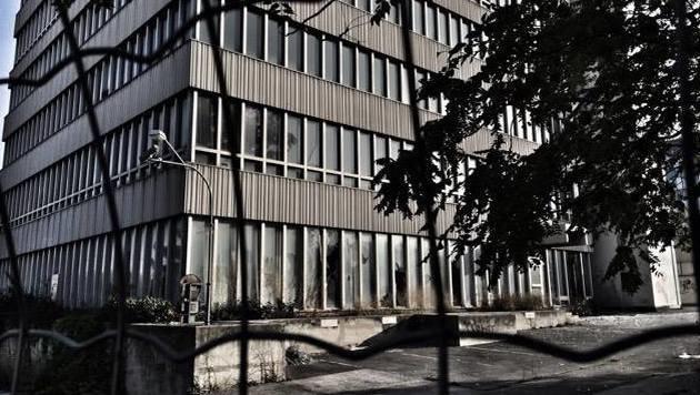 """""""Das Geisterhaus von Wien steht seit 11 Jahren leer (Bild: zet)"""""""