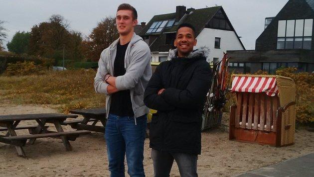 Österreichs Asse beim THW Kiel: Nikola Bilyk und Raul Santos (Bild: Karas)