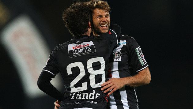 3:0! Wolfsberger AC zerlegt den SV Mattersburg (Bild: GEPA)
