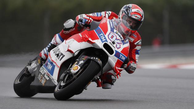 Dovizioso holt MotoGP-Pole-Position in Sepang (Bild: AP)
