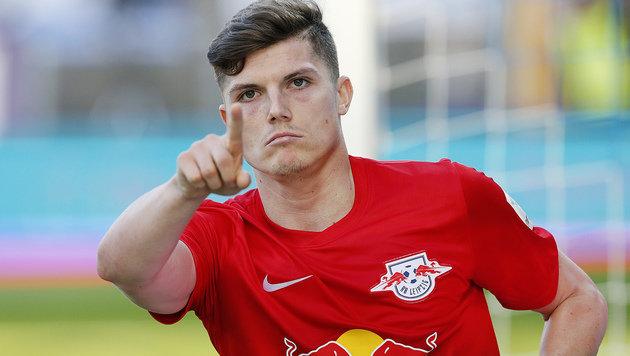 Sabitzer schießt RB Leipzig bei Comeback zum Sieg! (Bild: Associated Press)