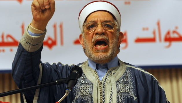 """Sheikh"" Abdelfattah Mourou (Bild: APA/AFP/FETHI BELAID)"