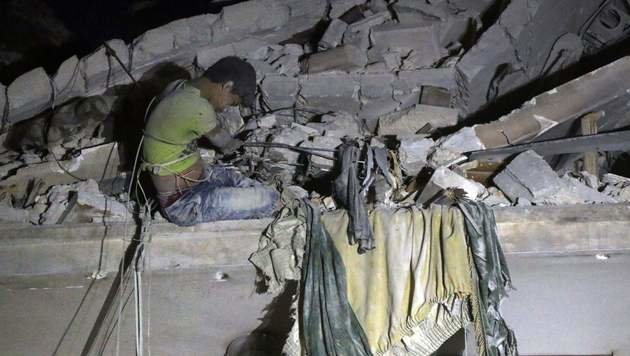 Das Aleppo, das wir sonst nie zu sehen bekommen (Bild: AFP)