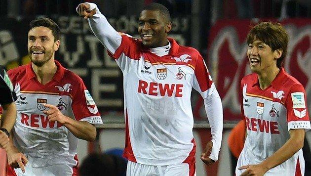 3:0! Modeste schießt Stögers Kölner solo zum Sieg (Bild: AFP or licensors)