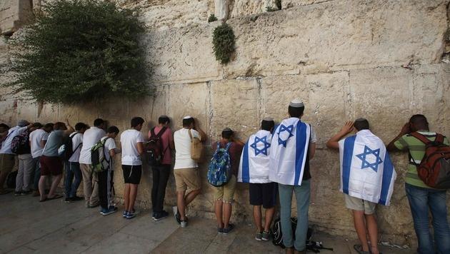 Die Klagemauer in Jerusalem (Bild: APA/AFP/MENAHEM KAHANA)