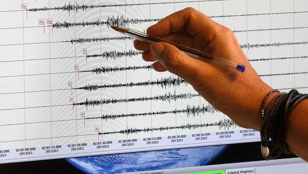 Italien erneut von heftigem Erdbeben erschüttert (Bild: APA/Georg Hochmuth (Symbolbild))