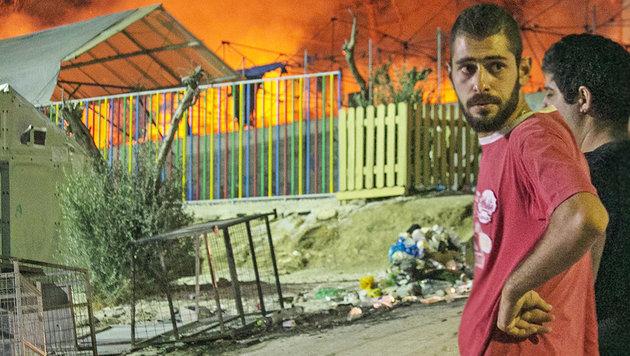"""Griechische Asyl-Inseln """"zu gefährlich"""" (Bild: AP)"""