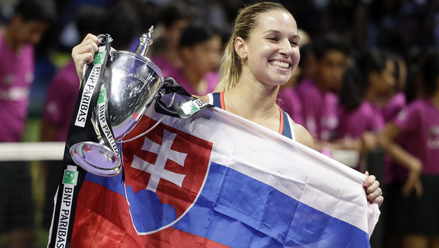 Linz-Siegerin Cibulkova triumphiert bei WTA-Finals (Bild: Associated Press)