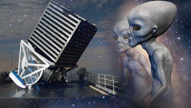 Das 2,5-Meter-Teleskop des Sloan Digital Sky Survey (Bild: SDSS/Patrick Galume, thinkstockphotos.de)