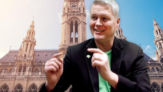 Will Sozialhilfe erhöhen, statt zu senken: Wiens Grünen-Klubobmann David Ellensohn (Bild: thinkstockphotos.de, APA/GEORG HOCHMUTH)
