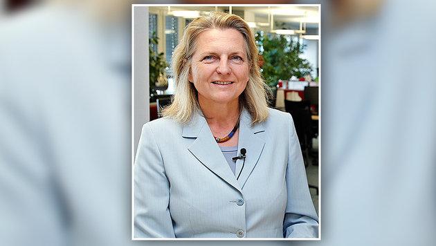 """Nahost-Expertin Karin Kneissl analysiert für die """"Krone"""". (Bild: Reinhard Holl)"""
