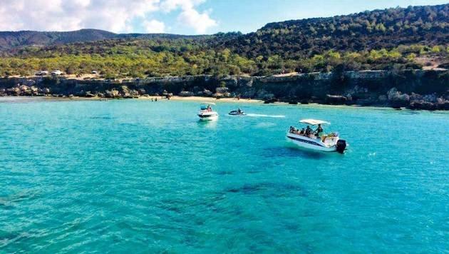 Die traumhafte Blaue Lagune. (Bild: Eva Bianca Waculik)