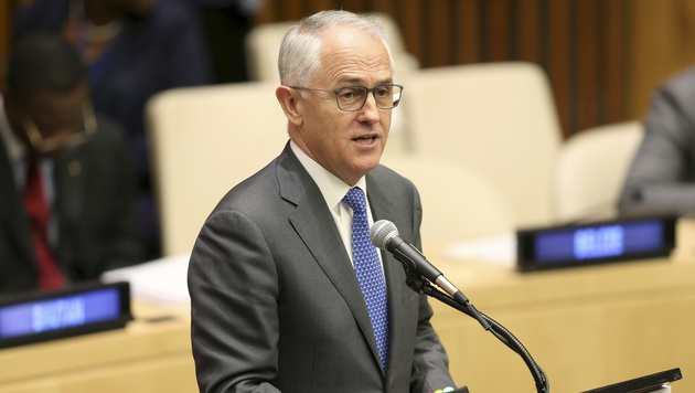 Australiens Premierminister Malcolm Turnbull (Bild: AP)