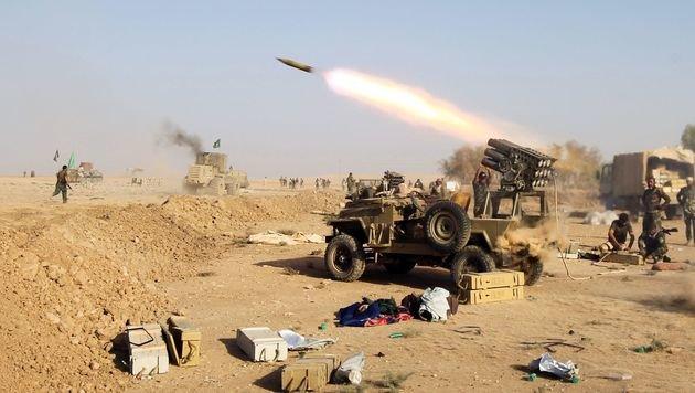 Kampf um Mosul (Bild: AFP)