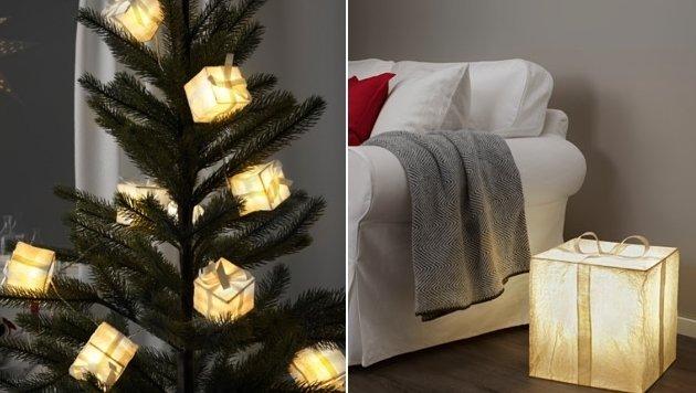 Ungew hnliche licht deko f r die dunklen tage for Ikea christbaumkugeln