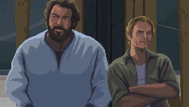 Gamer stiften 145.000 Euro für Bud-Spencer-Spiel (Bild: kickstarter.com)