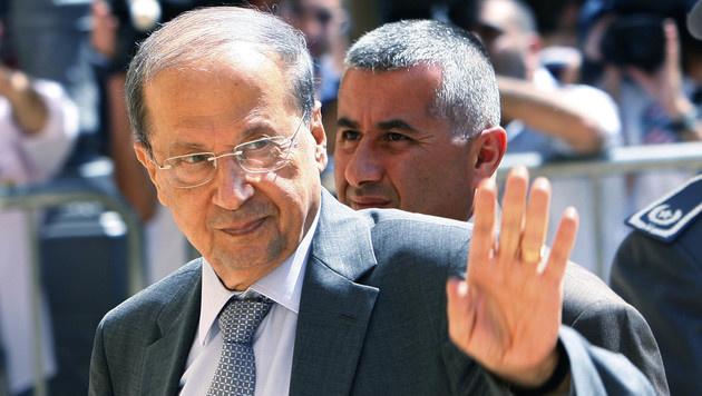 Michel Aoun (Bild: AP)