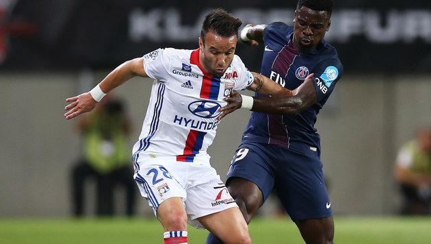 Lyon erzürnt über Valbuena-Falschmeldung (Bild: GEPA)