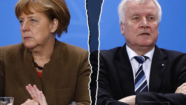 Seehofer pfeift auf Merkels CDU-Parteitag (Bild: AFP/ODD ANDERSEN)