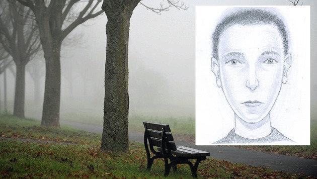 Sextäter entblößte sich in Park vor 33-Jähriger (Bild: LPD NÖ, dpa/ob)