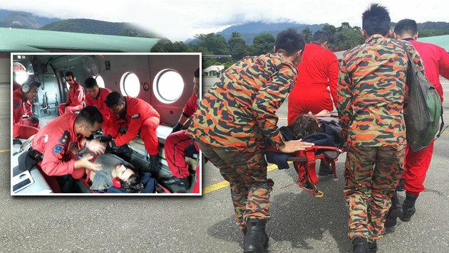 Borneo: Australier irrte 13 Tage durch Dschungel (Bild: facebook.com/RTM Sarawak)