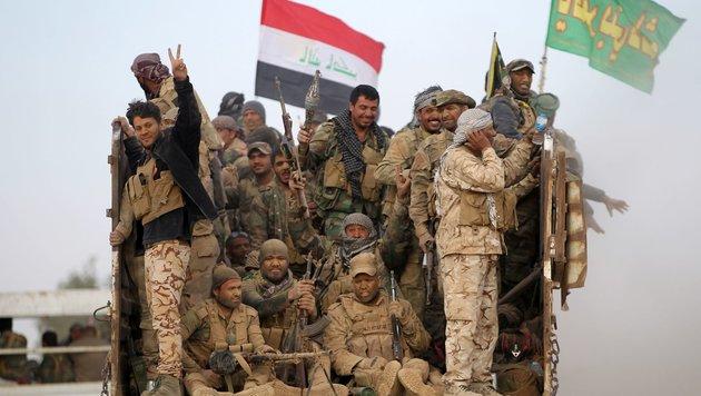 Irakische Armee erstmals in IS-Hochburg Mossul (Bild: AFP)