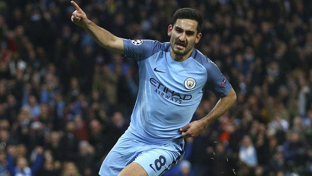 Manchester City holt historischen Sieg gegen Barca (Bild: Associated Press)