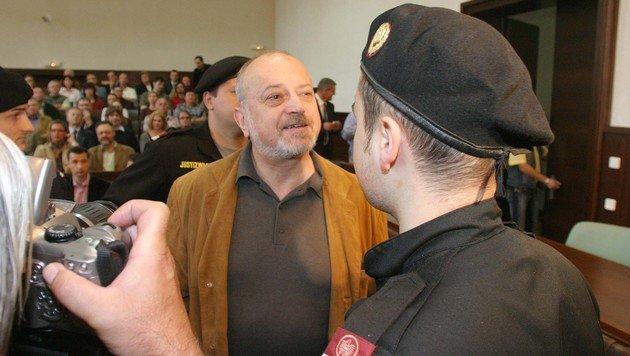 Helmut Osberger wurde nach Stein verlegt. (Bild: Martin A. Jöchl)