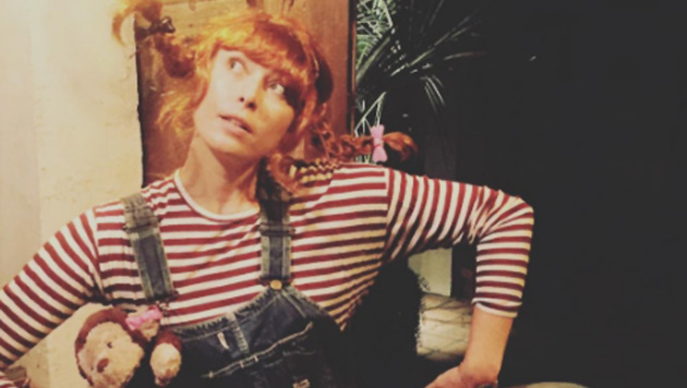 Zwei mal drei macht vier: Maria Scharapowa hat sich zu Halloween als Pippi Langstrumpf verkleidet! (Bild: instagram.com/Maria Sharapova)