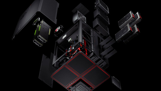 HP Omen X: Mächtiger Gaming-Zauberwürfel im Test (Bild: HP)