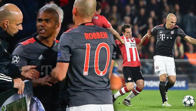 """Ärger bei Bayern! Robben: """"Bin sauer & enttäuscht"""" (Bild: APA/AFP/JOHN THYS, AP)"""