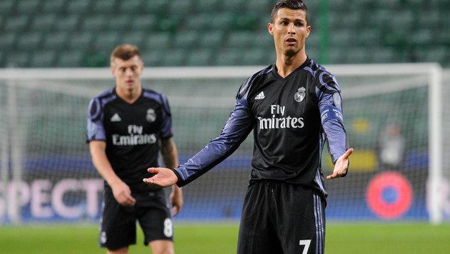 3:3! Real Madrid mit Blamage bei Legia Warschau (Bild: AP)
