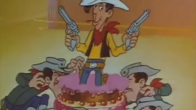 Der Cowboy, der schneller zieht als sein Schatten (Bild: Screenshot/YouTube.com)