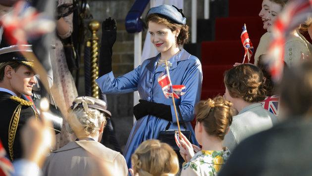 """Netflix-Serie """"The Crown"""" blickt unter die Krone (Bild: Alex Bailey/Netflix)"""