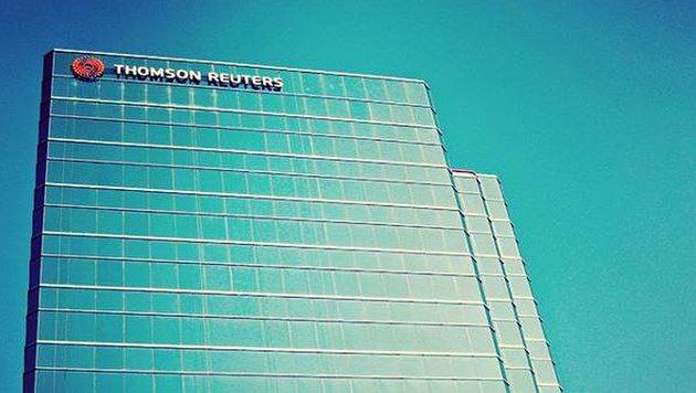 Börse jubelt über Massenentlassungen bei Reuters (Bild: facebook.com/thomsonreuters)