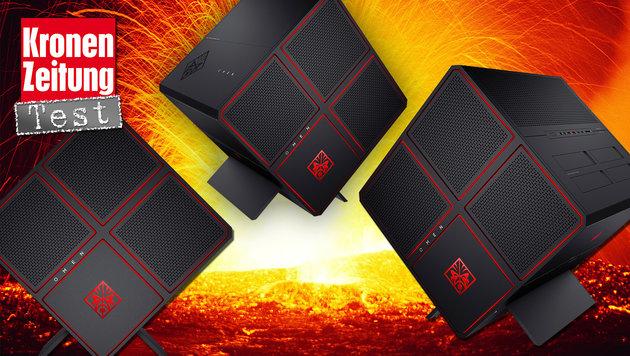 HP Omen X: Mächtiger Gaming-Zauberwürfel im Test (Bild: thinkstockphotos.de, HP)