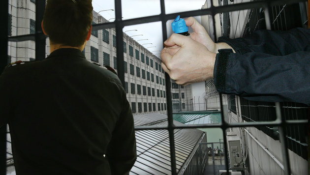 Häftling prügelt drei Gefängniswärter ins Spital (Bild: Peter Tomschi)