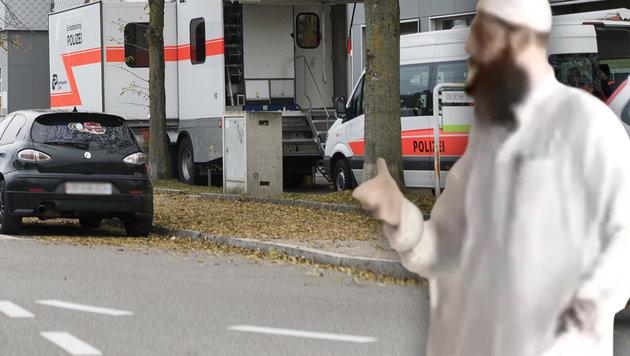 Imam rief zum Mord an Muslimen auf - verhaftet (Bild: APA/KEYSTONE/WALTER BIERI, twitter.com)