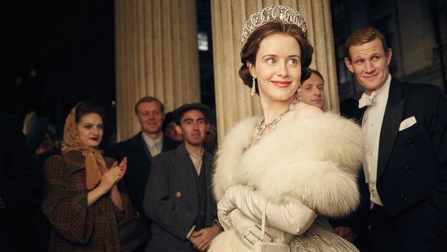 """Netflix-Serie """"The Crown"""" blickt unter die Krone (Bild: Robert Viglasky/Netflix)"""