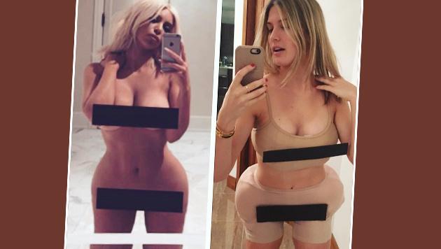 Tennis-Ass Eugenie Bouchard auf Kim Kardashians Spuren! (Bild: instagram.com)