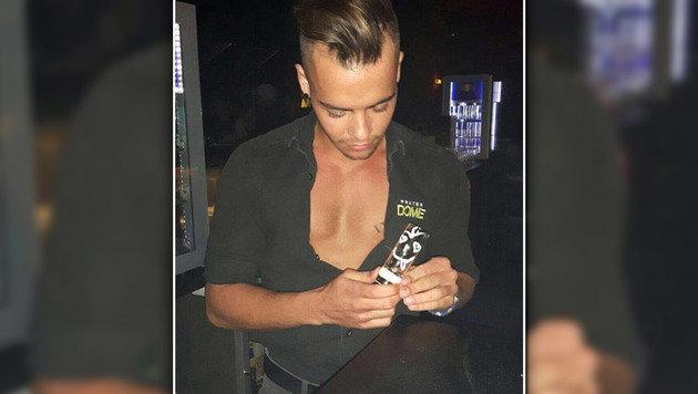 """""""Die schönsten Barkeeper der Wiener Clubs! (Bild: Privat)"""""""