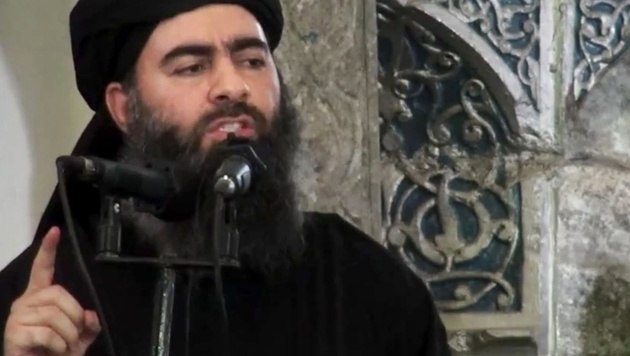 IS-Chef Abu Bakr al-Baghdadi (Bild: AP)