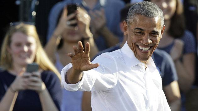 """Obama: """"Schicksal der Welt steht am Abgrund"""" (Bild: The Associated Press)"""