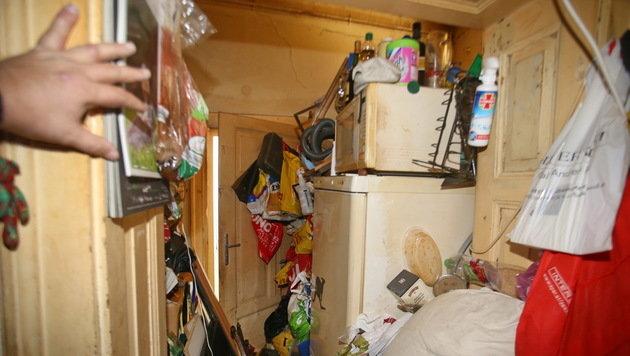 Messie (68) hortete sieben Tonnen Müll in Wohnung (Bild: Sepp Pail)