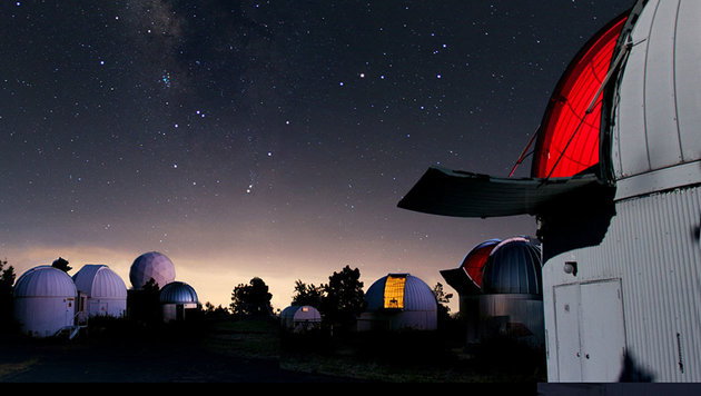 Das Mount-Lemmon-Observatorium nahe Tuscon (Arizona) (Bild: Adam Block)