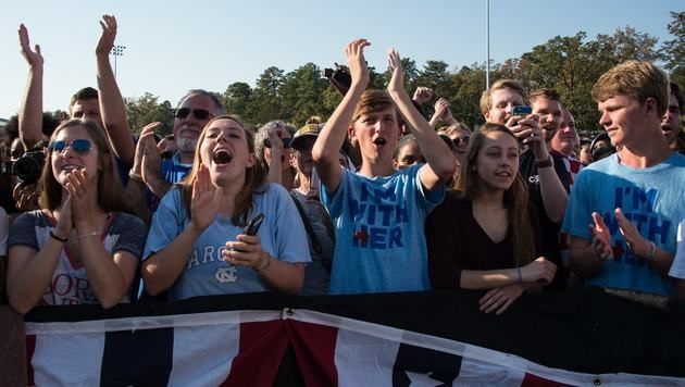 Obama-Anhänger (Bild: AFP)