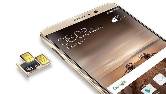 Huawei Mate 9: Potenter Android-Riese im Test (Bild: Huawei)