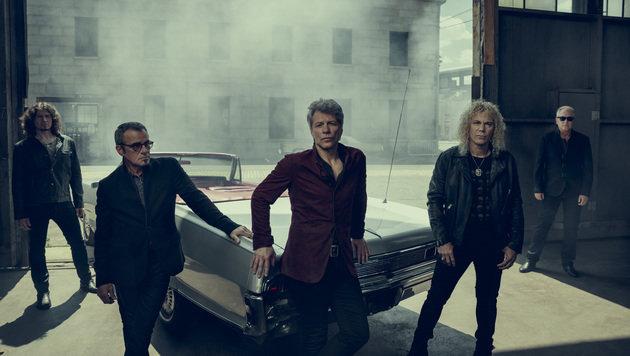 """Bon Jovi: """"Kann keine 20 Jahre mehr Rockstar sein"""" (Bild: Universal Music)"""