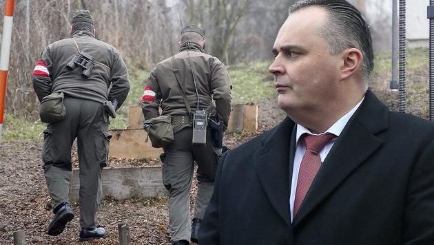 Grenzschutz: Doskozil verliert Geduld mit der EU (Bild: APA/ERWIN SCHERIAU, Sepp Pail)