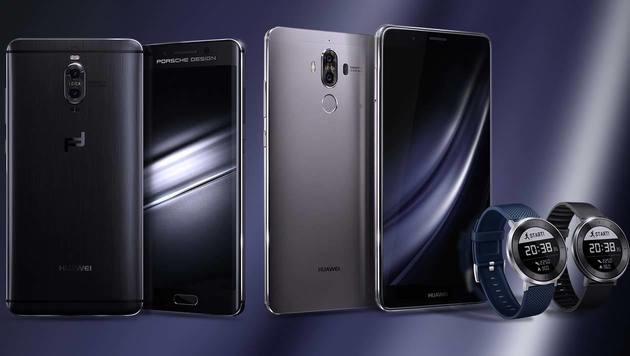 """""""Keine Explosionen"""": Huawei enthüllt Mate 9 (Bild: Huawei, krone.at-Grafik)"""